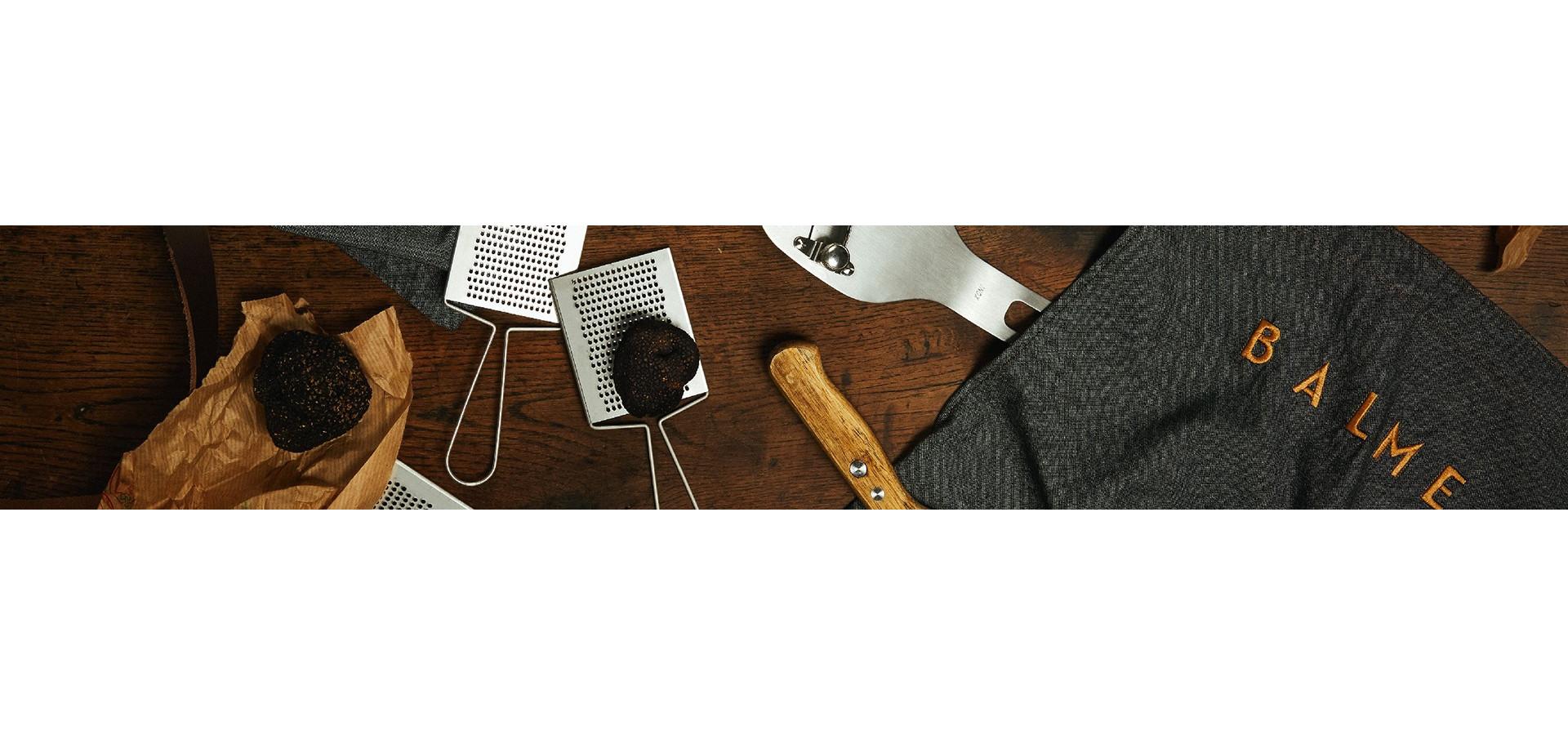 Découvrez notre gamme d'accessoires et coffrets cadeaux 100% truffés