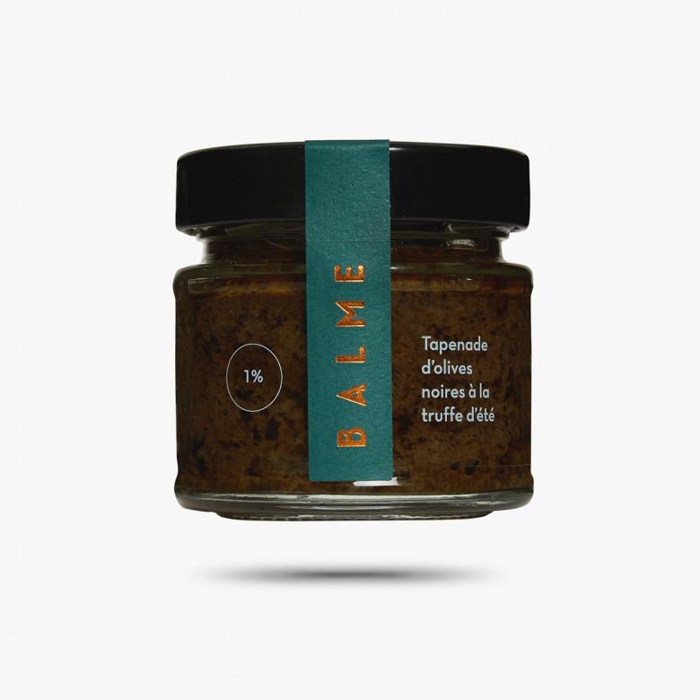 Tapenade d'olives noires à la truffe d'été