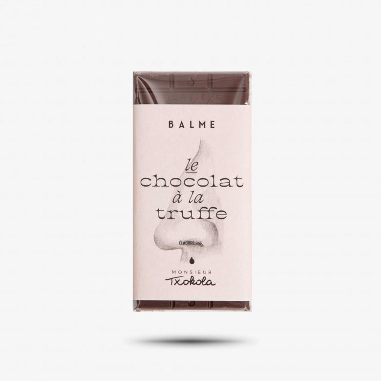 Chocolat noir aux pépites truffées