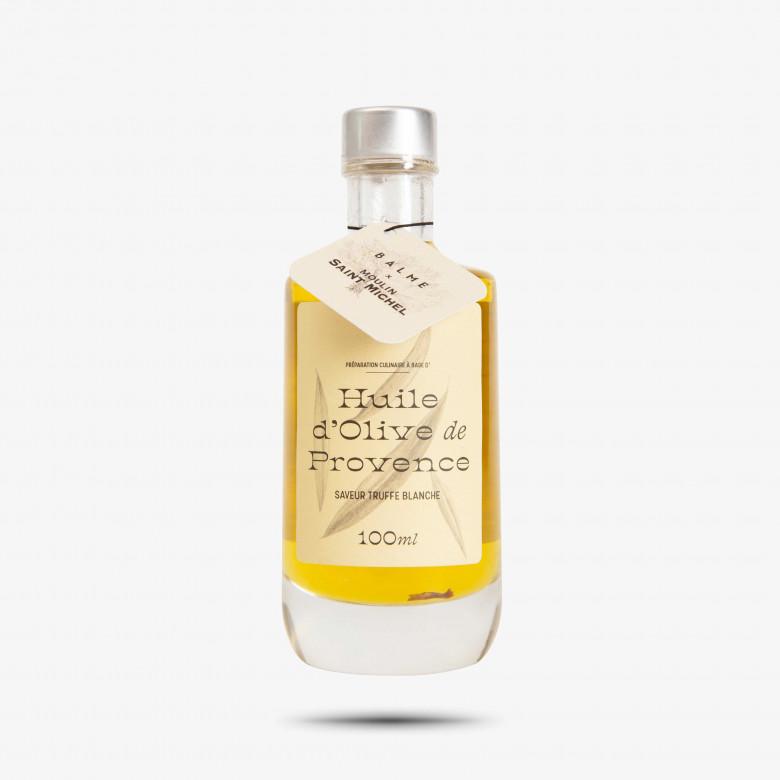 Huile d'olive des Baux de Provence saveur truffe blanche 100ml