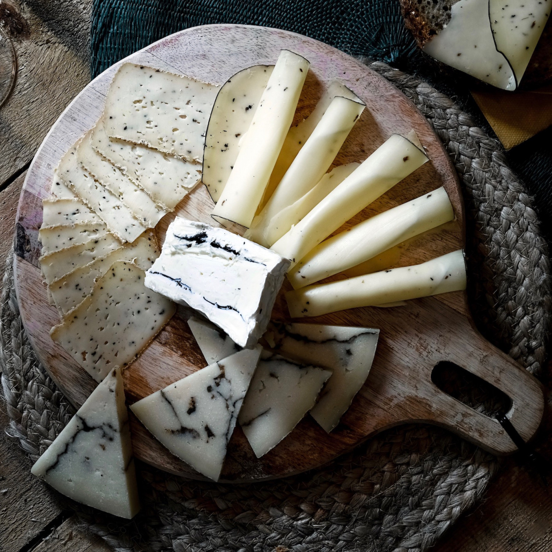 L'assiette de fromages à la truffe