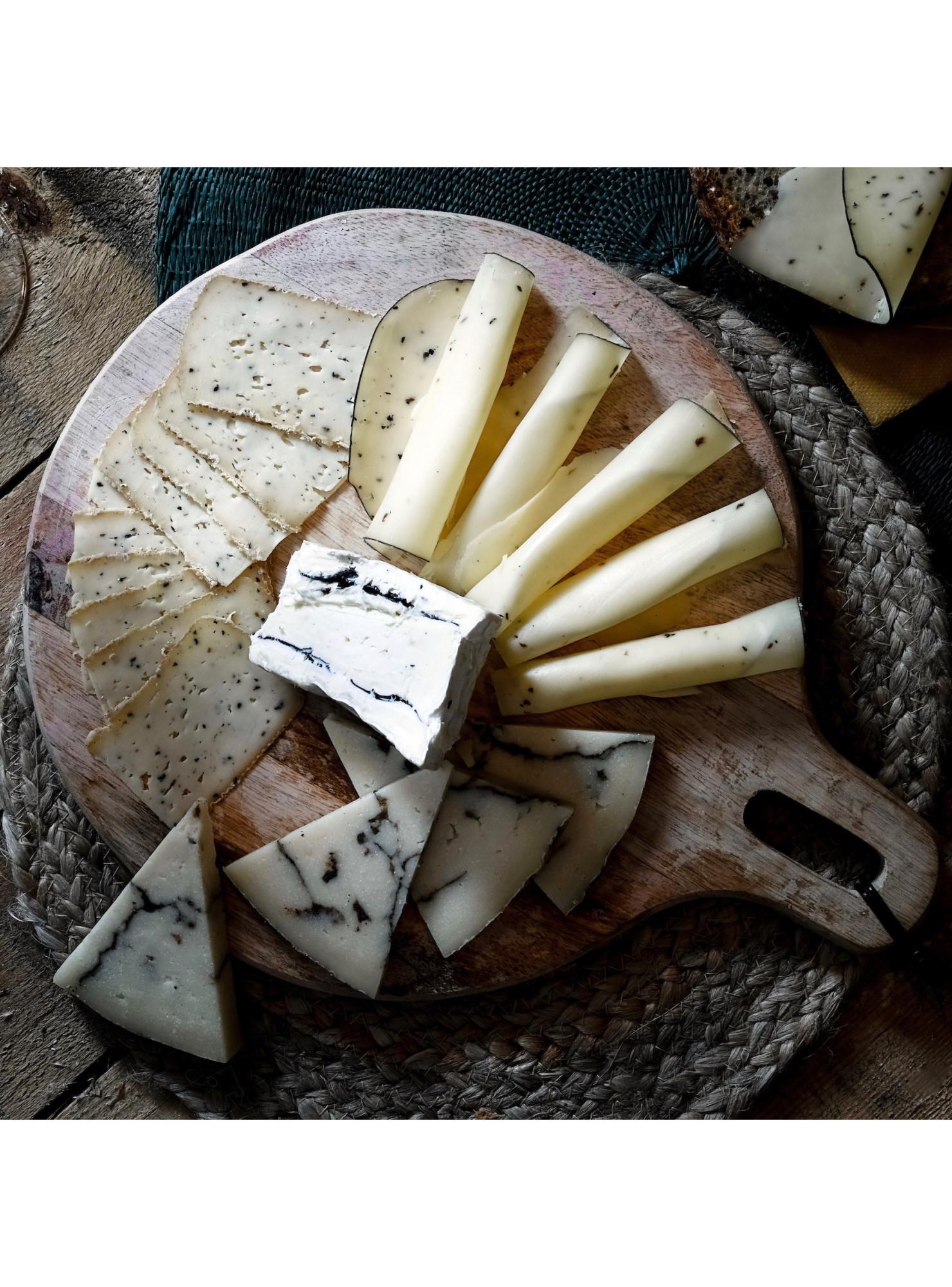 assiette de fromage à la truffe