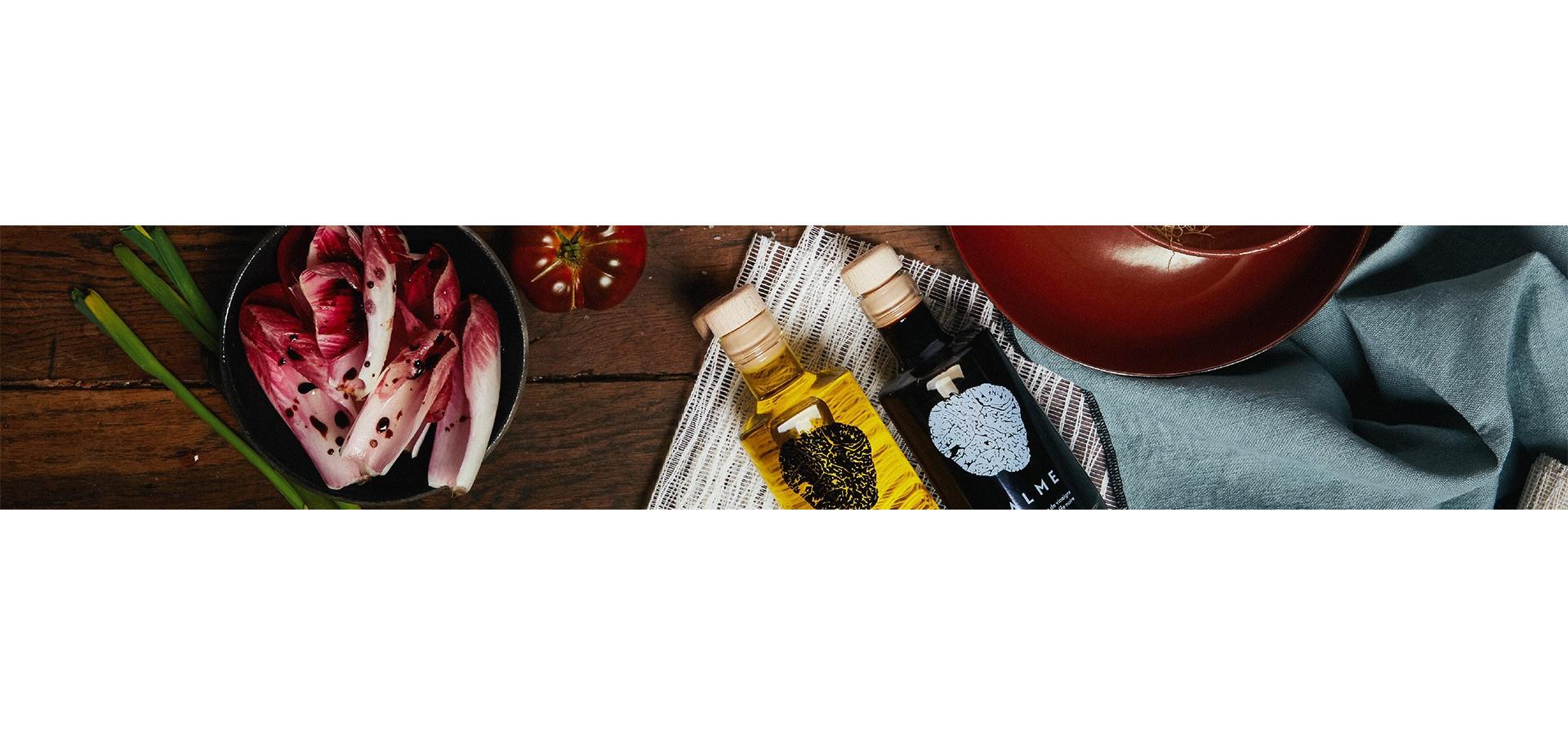 Condiment à la truffe, crème et sauce truffée - Maison Balme
