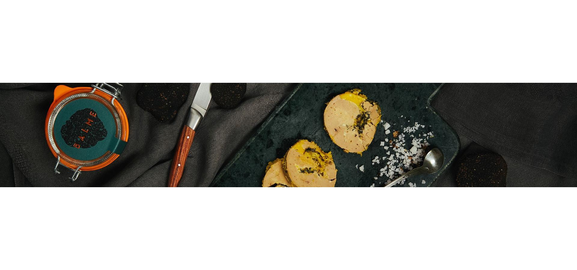 Succombez au plaisir que procure nos foies gras nature ou à la truffe