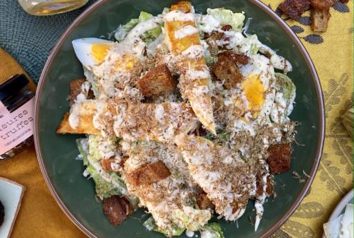 Salade César à la sauce Balme